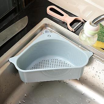 Kitchen Triangular Sink Filter, Strainer, Vegetable Fruite Drainer, Basket,