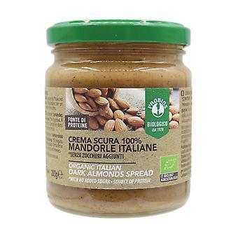 Crema scura 100% mandorle italiane 200 g