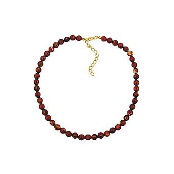 Collier à quatre bords Bead Red Marbled