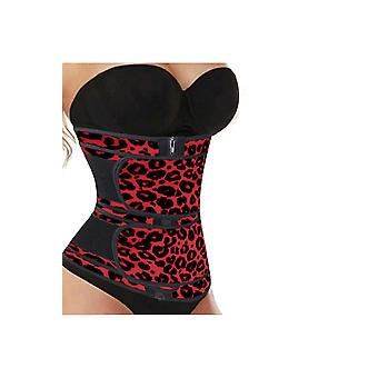 Printing Compression Double Strap Neoprene Waist Trainer