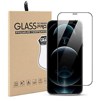 Tempered Glass Protection iPhone 12 Pro/iPhone 12 Covers full screen