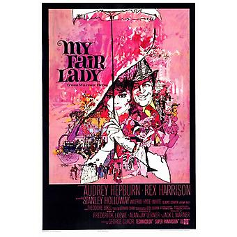 Min Fair Lady film affisch Skriv (27 x 40)