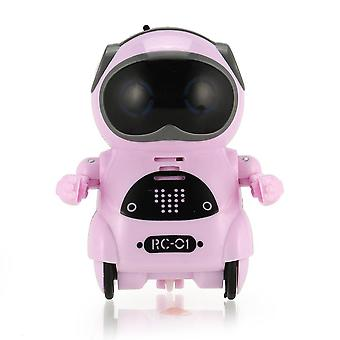 Smart Kids Mini Pocket Robot (walk Music Dance Light Voice Recognition