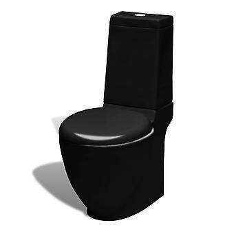 Ceramic Toilet WC Black