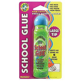 Crafty Dab School Glue - Clear, Single Blister