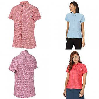 ريجاتا النساء / السيدات ميندانو الخامس قميص قصير الأكمام