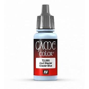Vallejo Game Color 17ml Acrylic Paint 95 Glacier Blue (ex Ice Blue)