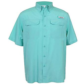 Summer Men Short Sleeve Fishing Shirts, Quick Dry Hiking Shirt