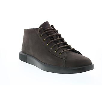 Camper Bill  Mens Brown Suede Lace Up Euro Sneakers Shoes
