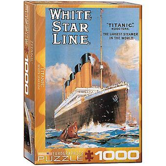 Eurographics - titanic white star line