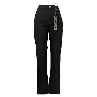 DG2 af Diane Gilman Women's Jeans 5-Pocket Black