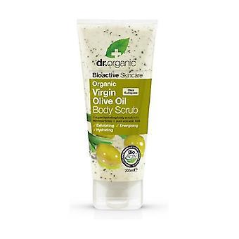 Organic Olive Body Scrub, 200 ml - scrub corpo 200 ml