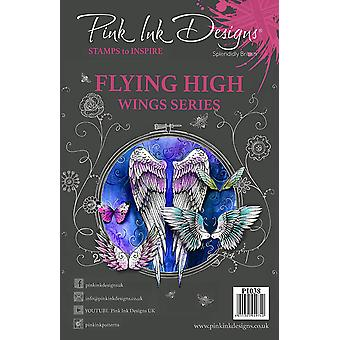 Pink Ink Designs Clear Stamp Flying High A5
