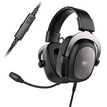 HAVIT Wireless Gaming Headphones with Omnidirectional Mic - For PS4 / PS5 - Headset Headphones with Microphone Black
