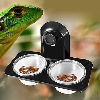 Reptile Tank Insect Spider Ants Nest Snake Gecko Food Water Feeding Bowl