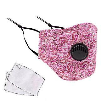 Επαναχρησιμοποιήσιμη μάσκα καμουφλάζ βαμβακιού υφάσματος