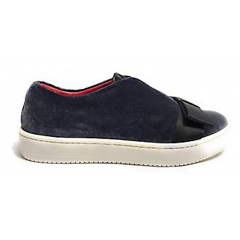 Shoes Women Aurora Sneaker Scamiciata Ciniglia Grey / Star With Bow D18au11