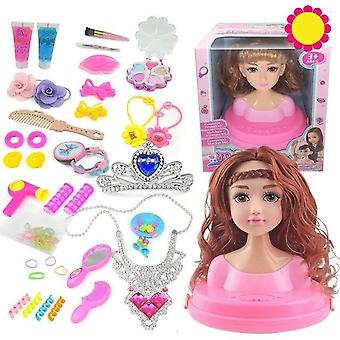 Makeup Comb Hair Toy Doll