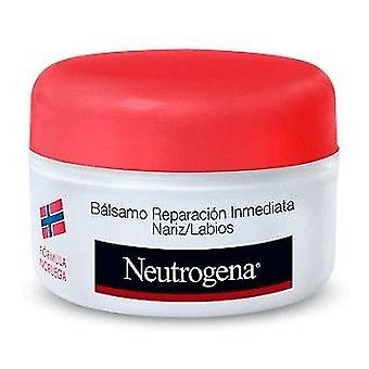 Neutrogena Balsam omedelbar reparation näsa och läppar