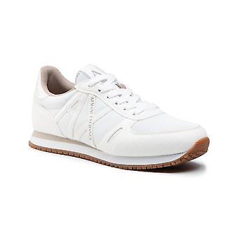 Shoes Women's Armani Exchange Sneaker Nylon/ White Ecosuede Ds21ax02 Xdx031