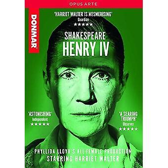Henry Iv [DVD] USA import