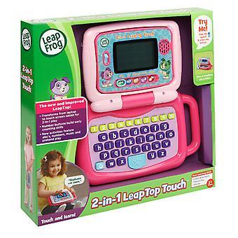 Leap Frog 2-en-1 LeapTop Touch Laptop rose