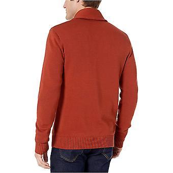 Goodthreads Men's Soft Cotton Shawl Cardigan Sweater, Washed Navy, X-Large