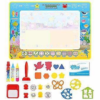 Magic doodle mat educational kids water drawing toys gift kt-6