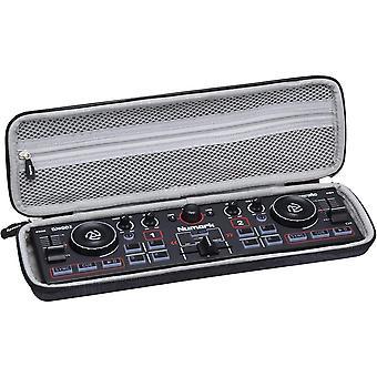 Hart Schutz Hülle Reise Tragen Etui Tasche für Numark DJ2GO2 Ultra-portabler 2-Kanal DJ