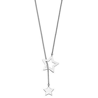 925 Sterling Silver Star Cable Wrap Necklace 41 Inch Jewelry Gifts for Women - 16.6 Grams