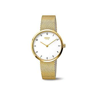 Boccia Analogueico Quartz Watch Woman with Stainless Steel Strap 3315-04