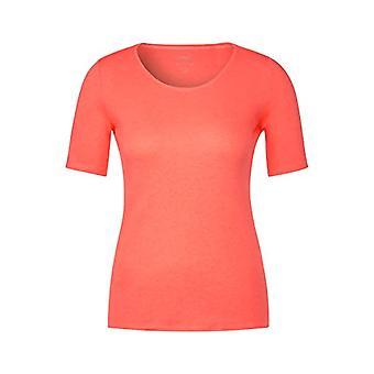 Cecil 313305 T-Shirt, Fluorescent Orange, S Woman