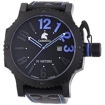 Automatic Analog Carucci Wristwatch CA2211BL-BK