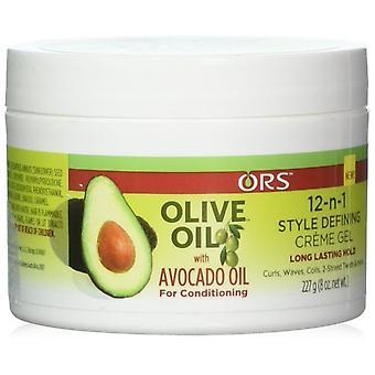 ORS Oliiviöljy 12-n-1 tyyli määrittelee Creme 8oz