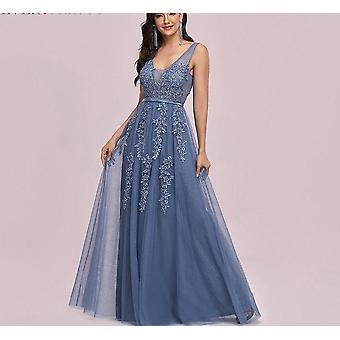 Abendkleider, A-Linie Ärmelloses Kleid