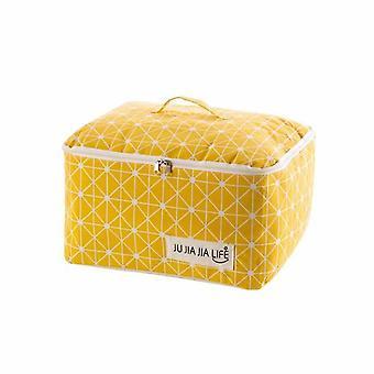Brief Blanket Storage Bag For Travel Clothes Linen Dustproof |Foldable Storage Bags