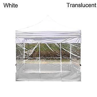 Ulkojuhliin Vedenpitävä Oxford Cloth Teltat Huvimaja Tarvikkeet Sateenkestävä Katos Kansi (valkoinen) WS23977