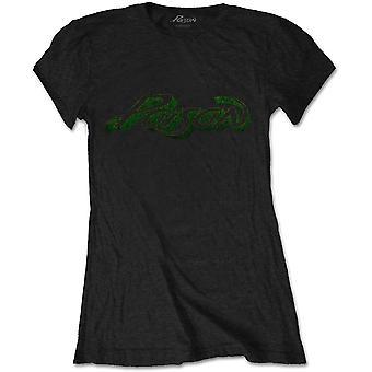 Poison - Vintage Logo Women's XX-Large T-Shirt - Black
