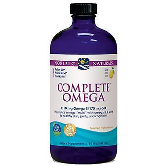 Nordic Naturals Complete Omega, Lemon 16 oz