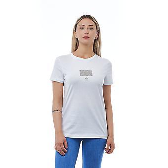 Camiseta Blanca Cerruti 1881 Mujer