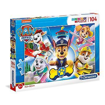 Puzzle Clementoni Paw Patrol (104 pcs)