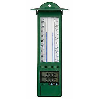 Naturträdgård Min-Max-Termometer Digital 9,5 x 2,5 x 24 cm