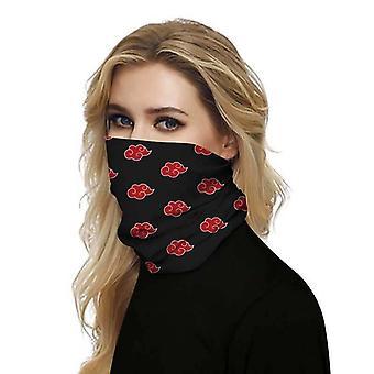 (Nuage de Naruto) Fonction complète Masque facial Tube De Col Cyclisme Snood Écharpe Bandana