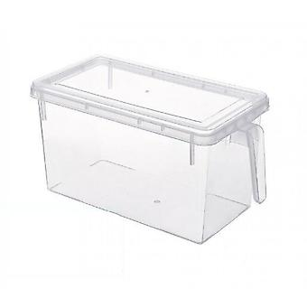 Fridge Storage Containers Produce Saver, Stackable Refrigerator Organizer Keeper With Handle & Lid