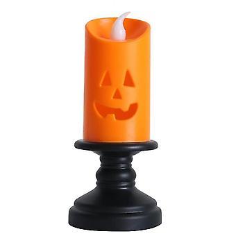 Halloween tragbare Led Kürbis und Schädel Laternen (4 Stück)