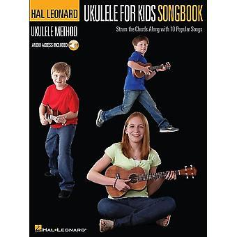 Hal Leonard Ukelele Método para niños Cancionero