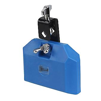 Musical blocks modern high pitched plastic percussion instruments block integral clamp blue