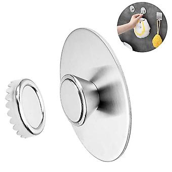 Wall-mounted Magnetic Stainless Steel Soap Holder Hanging Bar Soap