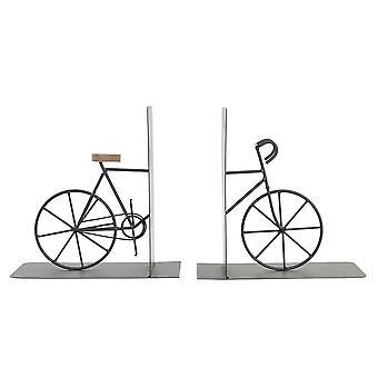 Bookend DKD Home Sisustus Polkupyöränrauta (2 kpl) (20 x 12 x 20 cm)