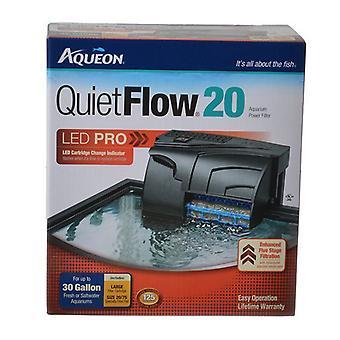 Filtre d'alimentation Aqueon QuietFlow LED Pro - QuietFlow 20 (Aquariums jusqu'à 20 gallons)